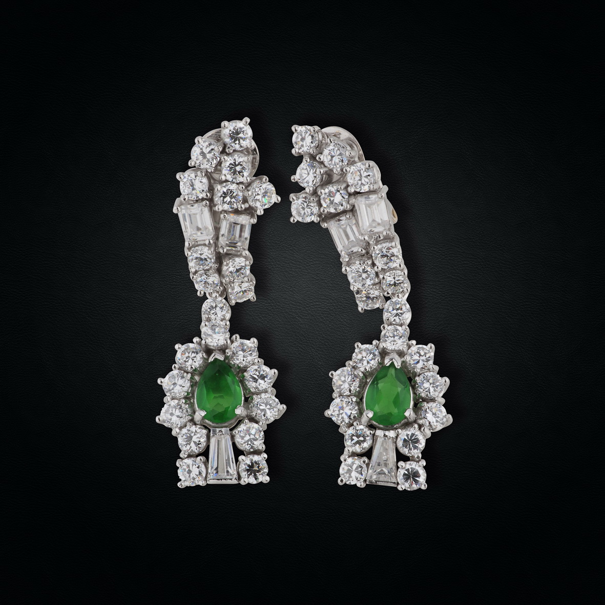 Art Deco Emeralds
